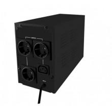Qoltec Zasilacz awaryjny UPS 1200VA 720W