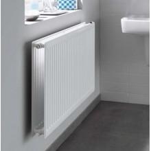 Grzejnik płytowy KERMI PROFIL-K higieniczny FH010 900 x 900 x 61 mm 630 W przyłącze boczne biały