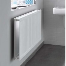 Grzejnik płytowy KERMI PROFIL-K higieniczny FH010 900 x 2300 x 61 mm 1610 W przyłącze boczne biały