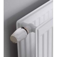 Grzejnik płytowy KERMI PROFIL-K FH010 higieniczny stalowy przyłącze boczne biały