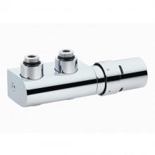 Danfoss zestaw VHX Duo głowica termostatyczna z zaworem do grzejników łazienkowych