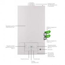 Piec gazowy dwufunkcyjny De Dietrich MCR HOME 20/24MI