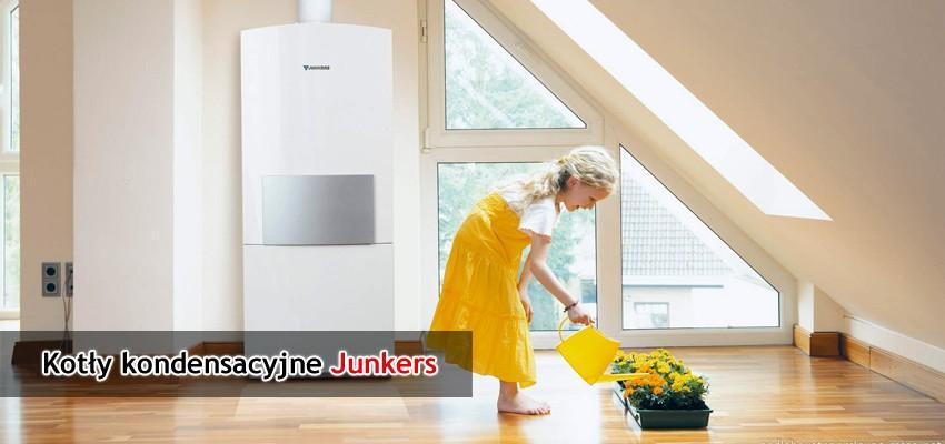 Kotły kondensacyjne Junkers